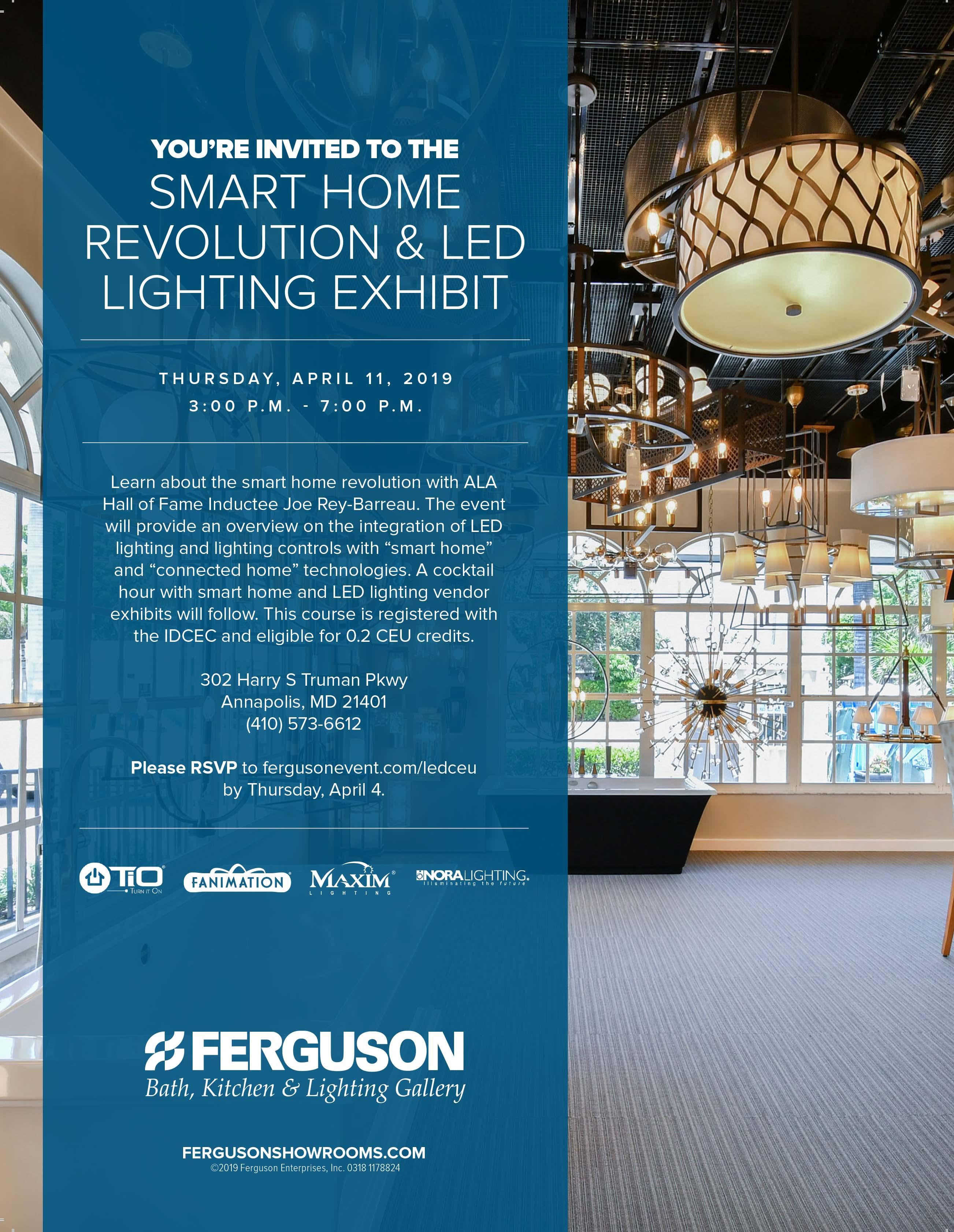 led lighting integration smart home
