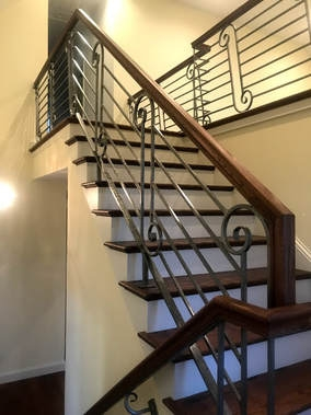 Annapolis Railings Stairs Annapolis Railings And Stairs Home   Unique Handrails For Stairs   Residential Staircase   Hand Rail   Simple   Inside   Interior