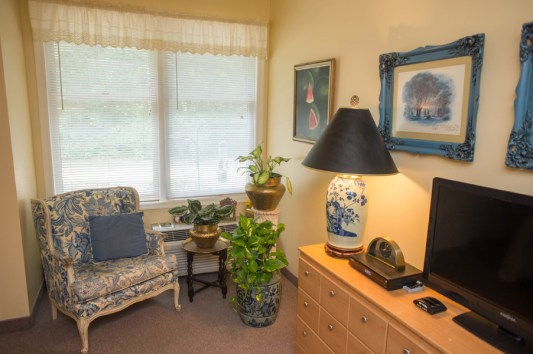 Residents make themselves at home in Cattail Cove, with personalized paint colors and furniture.