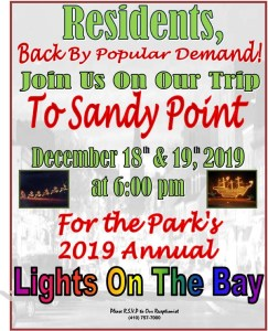 lights on the bay trip flyer