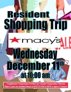 macys shopping trip flyer
