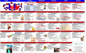 july 2020 assisted living activity calendar
