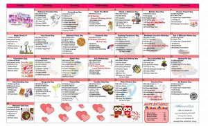 february 2021 assisted living resident activity calendar