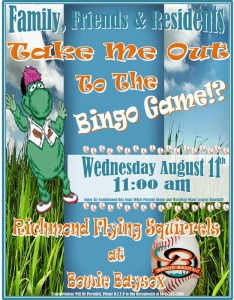 annapolis assisted living baseball flyer