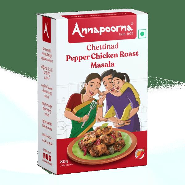 Chettinad Pepper Chicken Masala Powder
