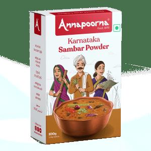 Best Karnataka Sambar Powder