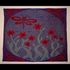 """""""Dragonfly Garden"""" by Jennifer Stafford jstafford@emich.edu"""