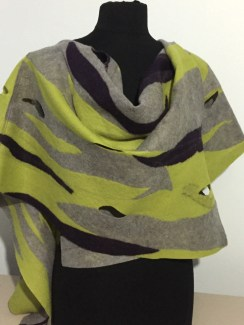 """Fusion Cross Over Wrap"" by Michele Montour www.montourdesigns.com"