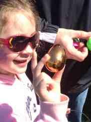 Ann Arbor Easter Egg Hunt - 2012 Ann Arbor Jaycees Golden Egg