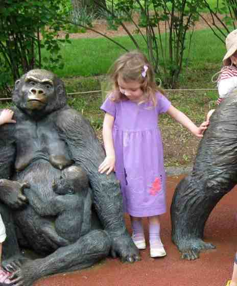 Toledo Zoo #TBT Gorilla Statue 2009