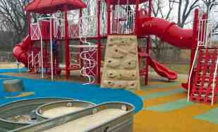 Mess Free Playgrounds - County Farm Park - Play Structure