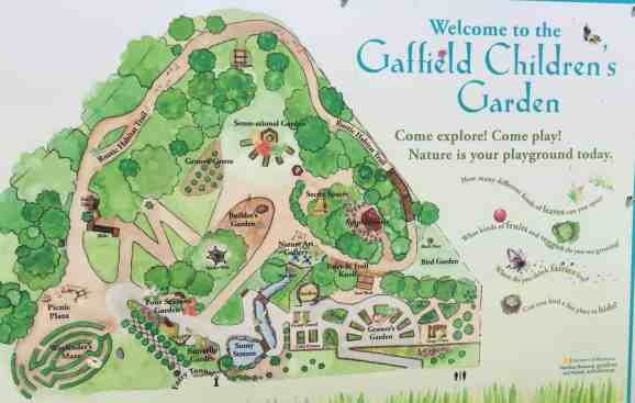 Matthaei Botanical Garden - Children's Garden - Map