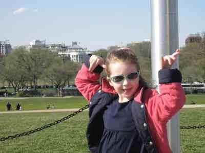 National Parks - White House from Washington Monument