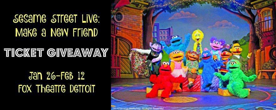 Sesame Street Live: Make a New Friend - Giveaway
