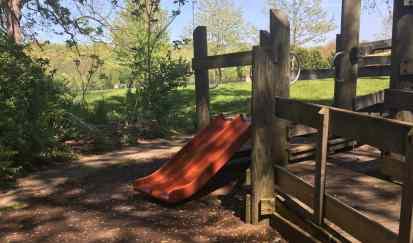 Fuller Park Playground Profile - Mini Slides