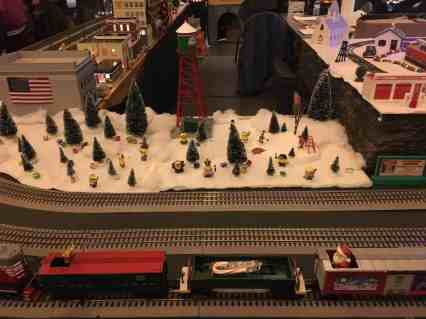 Greenfield Village Holiday Nights - Minions & Lionel Trains in Village Pavilion