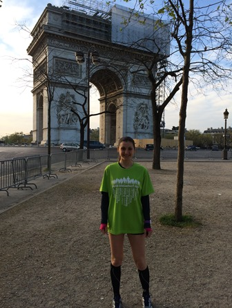 Pre-breakfast run Paris