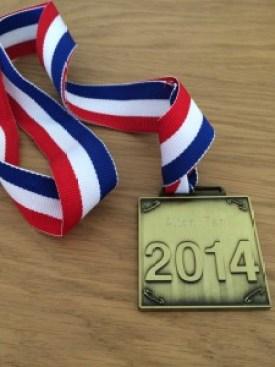 Alton 10 miles medal