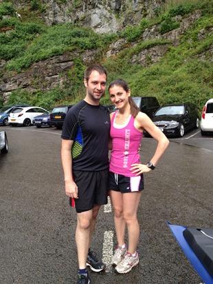Cheddar Gorge half marathon