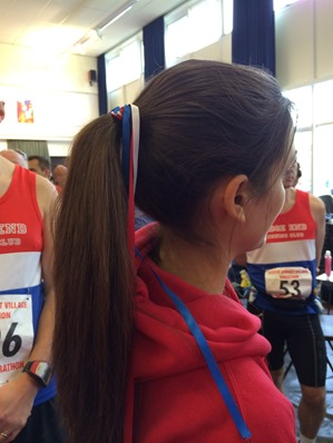 Race hair ribbons