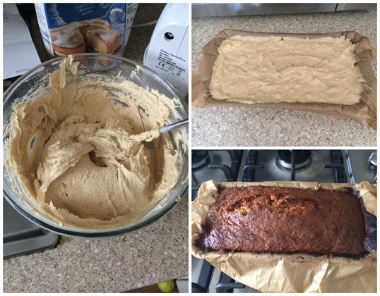 Carrot cake process