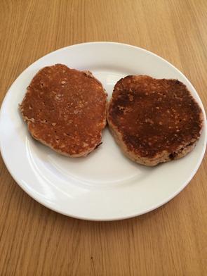 Protein powder pancakes