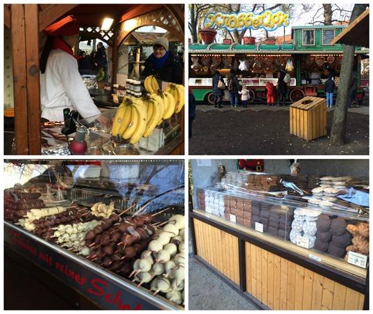 German Christmas market food