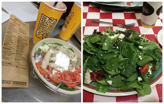 Dallas salad lunches
