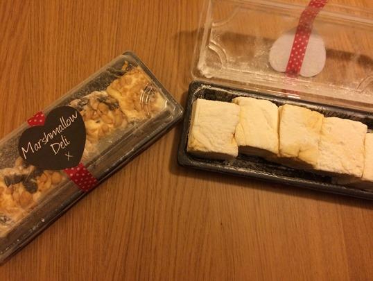 Marshmallow deli - caramel swirl