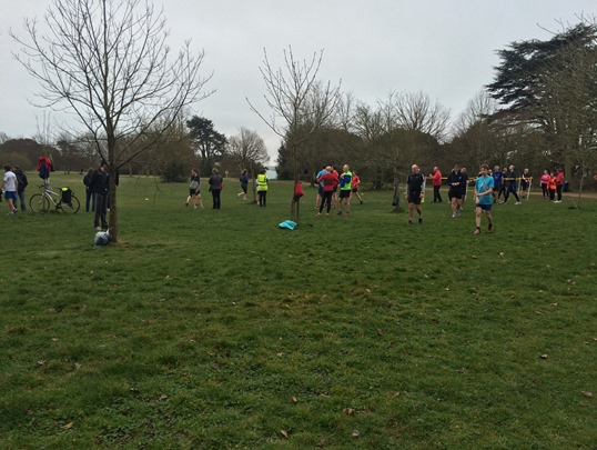 Netley Abbey March parkrun