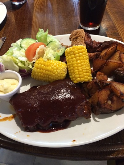 Ribs and chicken meal Bristol