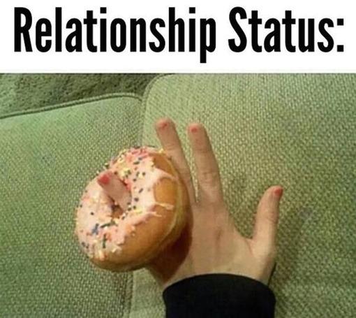 Donut relationship status