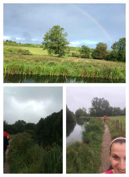 Long run scenery