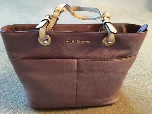 Michael Kors rose handbag