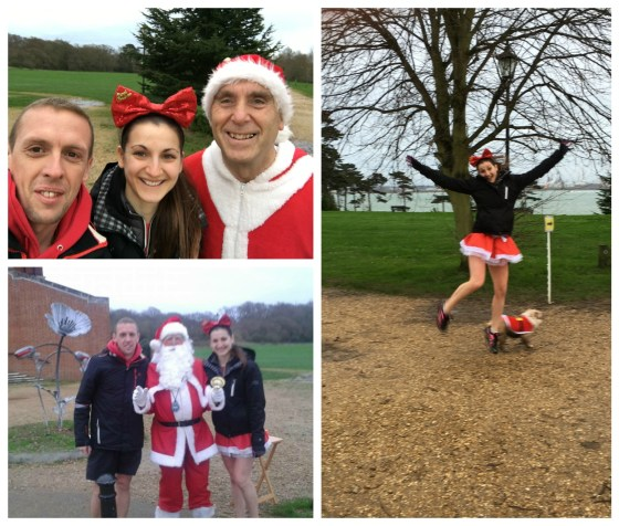 Christmas parkrun