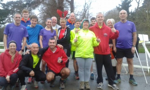 Netley Abbey parkrun volunteers