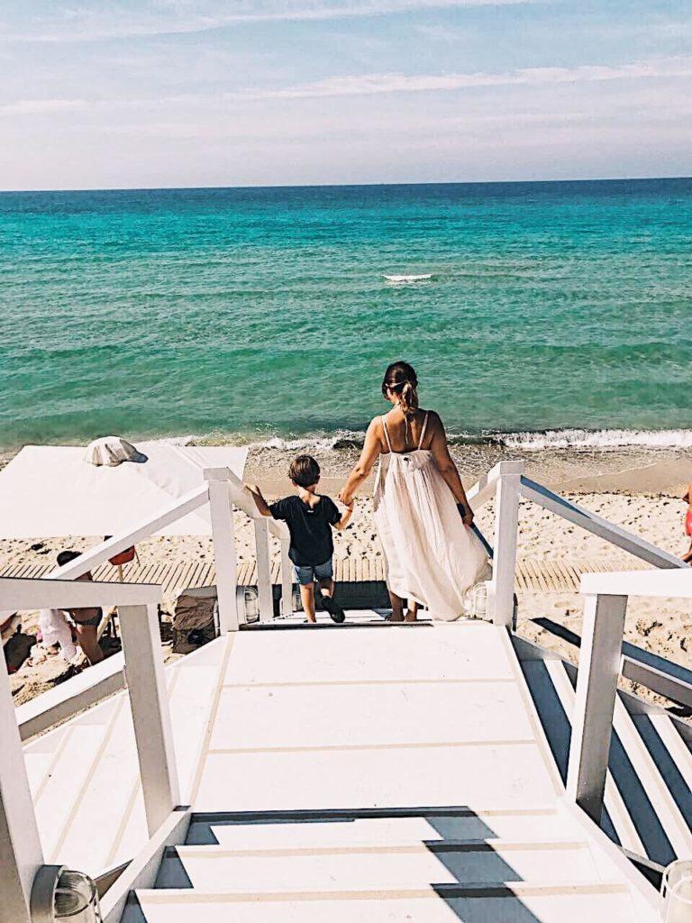 Sani bousoulas beach