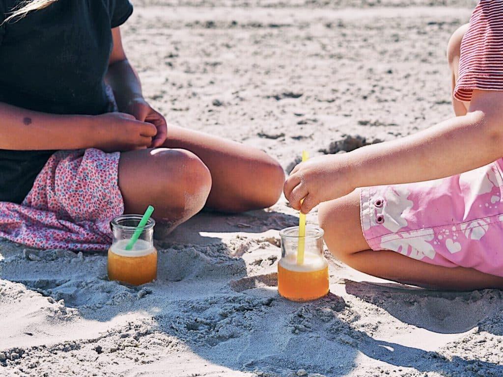 Clara und emil sani beach