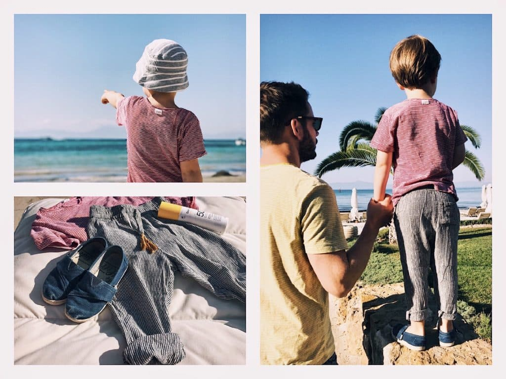 Emil am Sani Strand