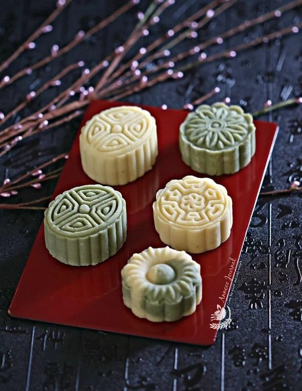 Mung Bean Cakes Amp Mung Bean Mooncakes 冰心綠豆糕 冰心月餅 Anncoo