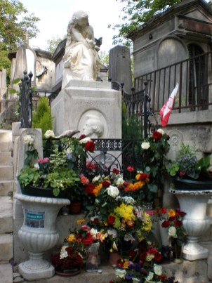 Chopin at Pere Lachaise