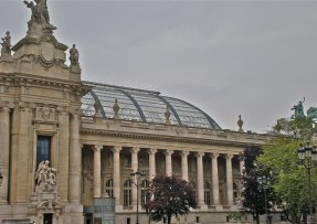 """Grand Palais des Champs-Élysées, dedicated """"by the French Republic to the glory of French art"""""""