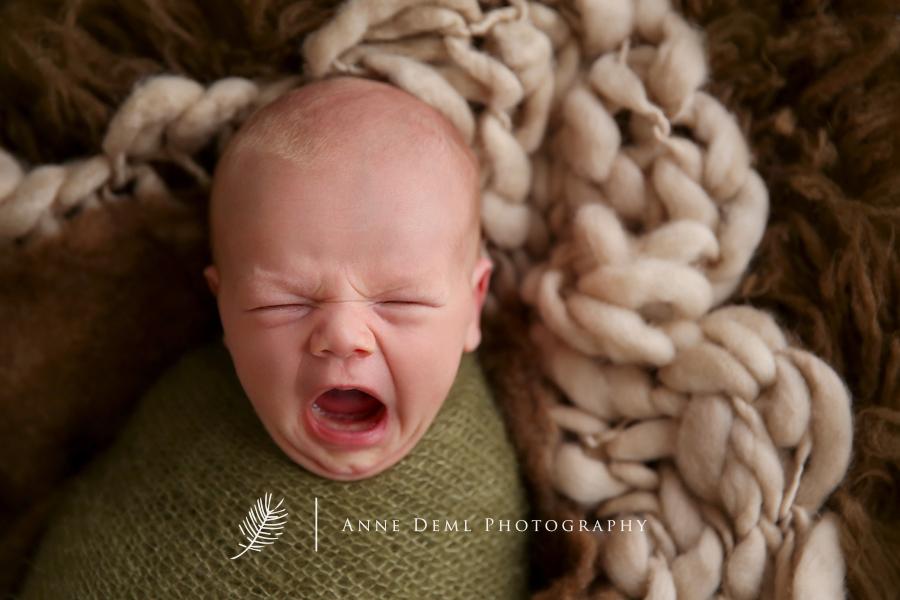 Neugeborenenfotos mit Luca  Babyfotograf Augsburg  Mnchen