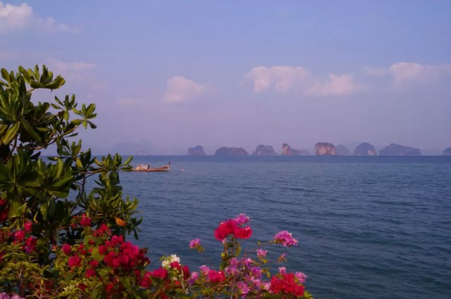 the view on the phang nga bay from koh yao noi