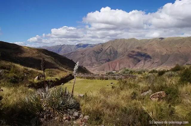 The inca water reservoir above tipon water gardens