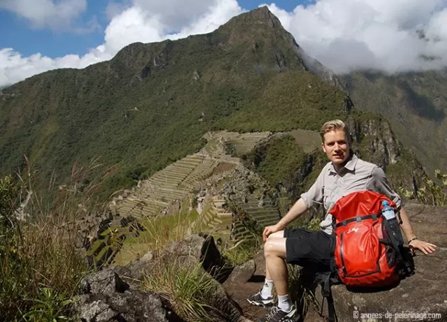 What to pack for wayna picchu - a small daypack is recommended
