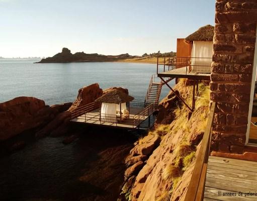 Picture perfect luxury hotel - the titilaka lodge has many terraces and secluded areas