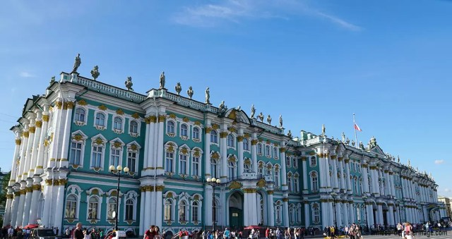 the State Hermitage Museum in St Petersburg Russia