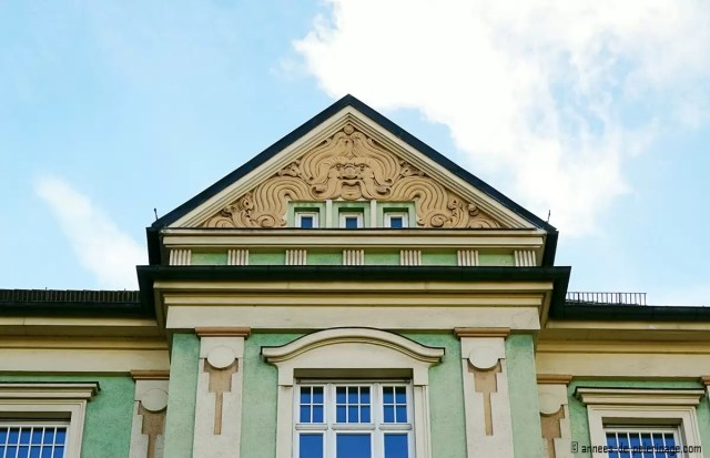 Art Nouveau house at Ismaninger Strasse 98 in Munich