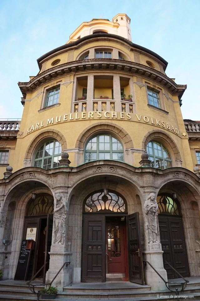 """Art Nouveau public bath """"Mueller'Sches Volksbad"""" in Munich2"""